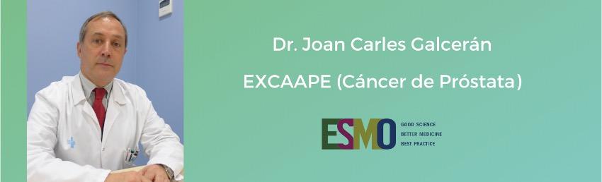 Se presentaron en el congreso europeo de oncología médica (ESMO) los resultados de nuestro ensayo clínico EXCAAPE