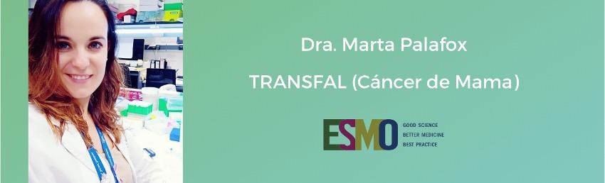 Presentación de los resultados de TRANSFAL en el congreso europeo de oncología médica ESMO