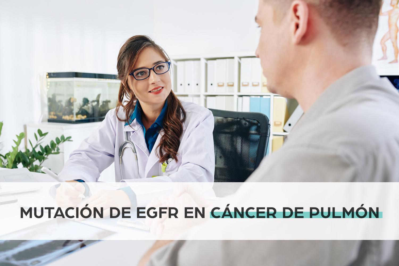 Mutación de EGFR en cáncer de pulmón