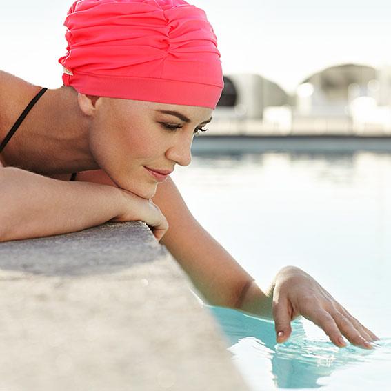 gorros oncologicos para nadar