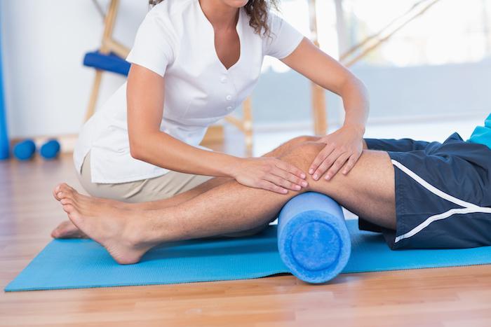 Masaje localizado en articulaciones y extremidades