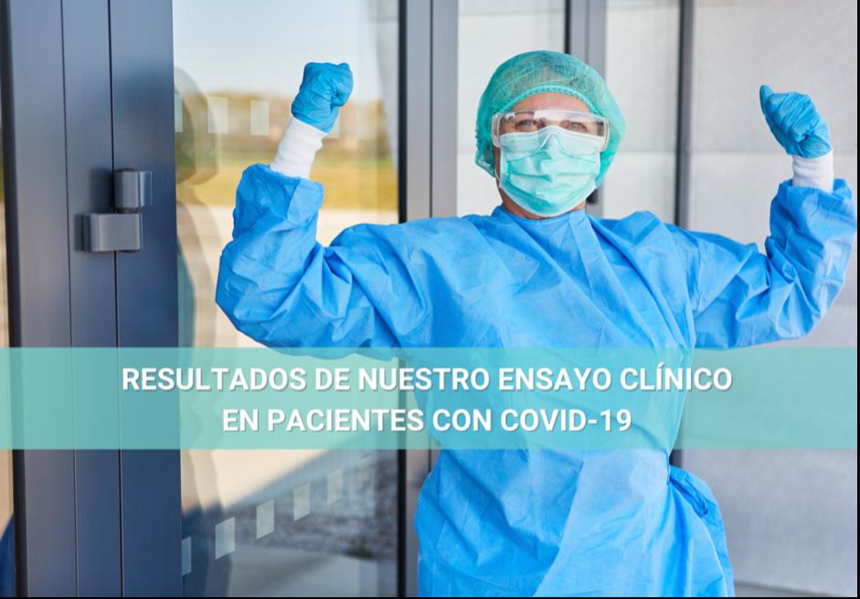 ¡Lo hemos hecho! Nuevo abordaje terapéutico reduce el tiempo de hospitalización en pacientes con COVID-19